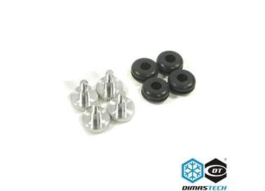 Dimastech 174 Rubbers Amp Hd Special Screws 6 32 Deep Balck