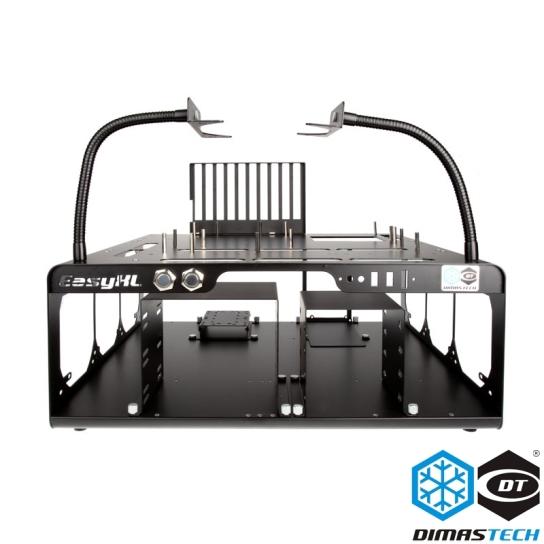 Dimastech 174 Bench Test Table Easyxl Graphite Black