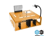 DimasTech® Bench/Test Table Easy V3.0 Sahara Yellow