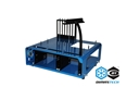 DimasTech® Bench/Test Table Mini V2 Aurora Blue