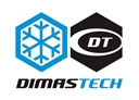 Transparent DimasTech Sticker