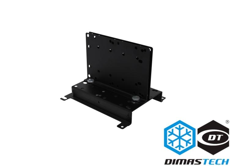 Dimastech 174 Vertical Pump Support Graphite Black