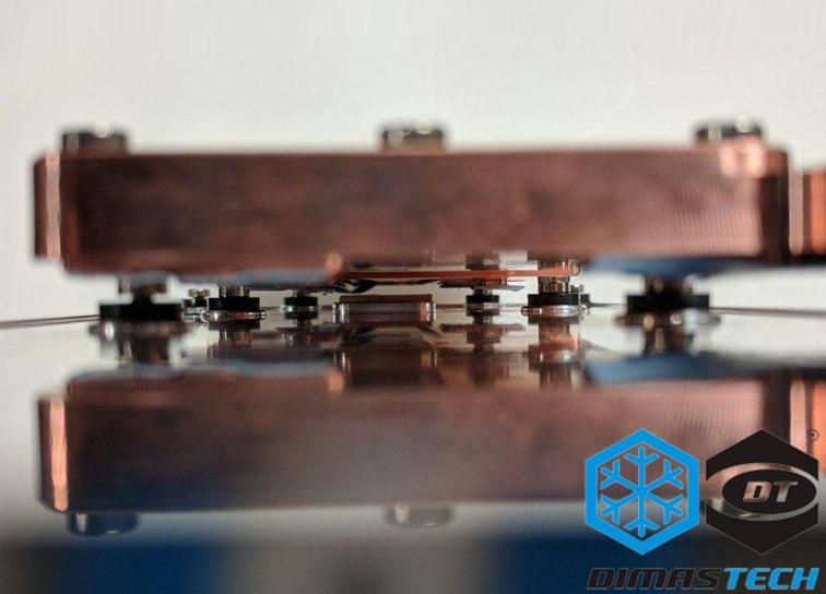 Dimastech® XMV-Cool Waterblock for FPGA Board Xilinx VCU1525