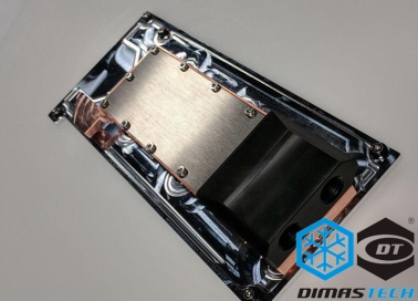 Dimastech® XMV-Cool Waterblock for FPGA Board Xilinx VCU1525